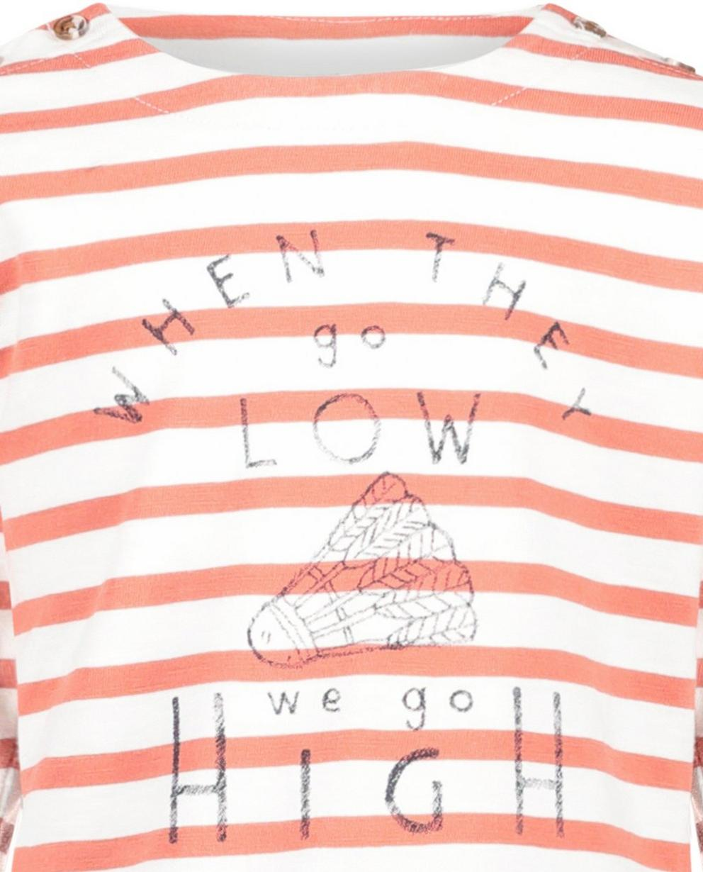 T-Shirts - Gestreepte longsleeve